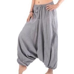 Nepali Parachute Harem Pants - 100% Cotton
